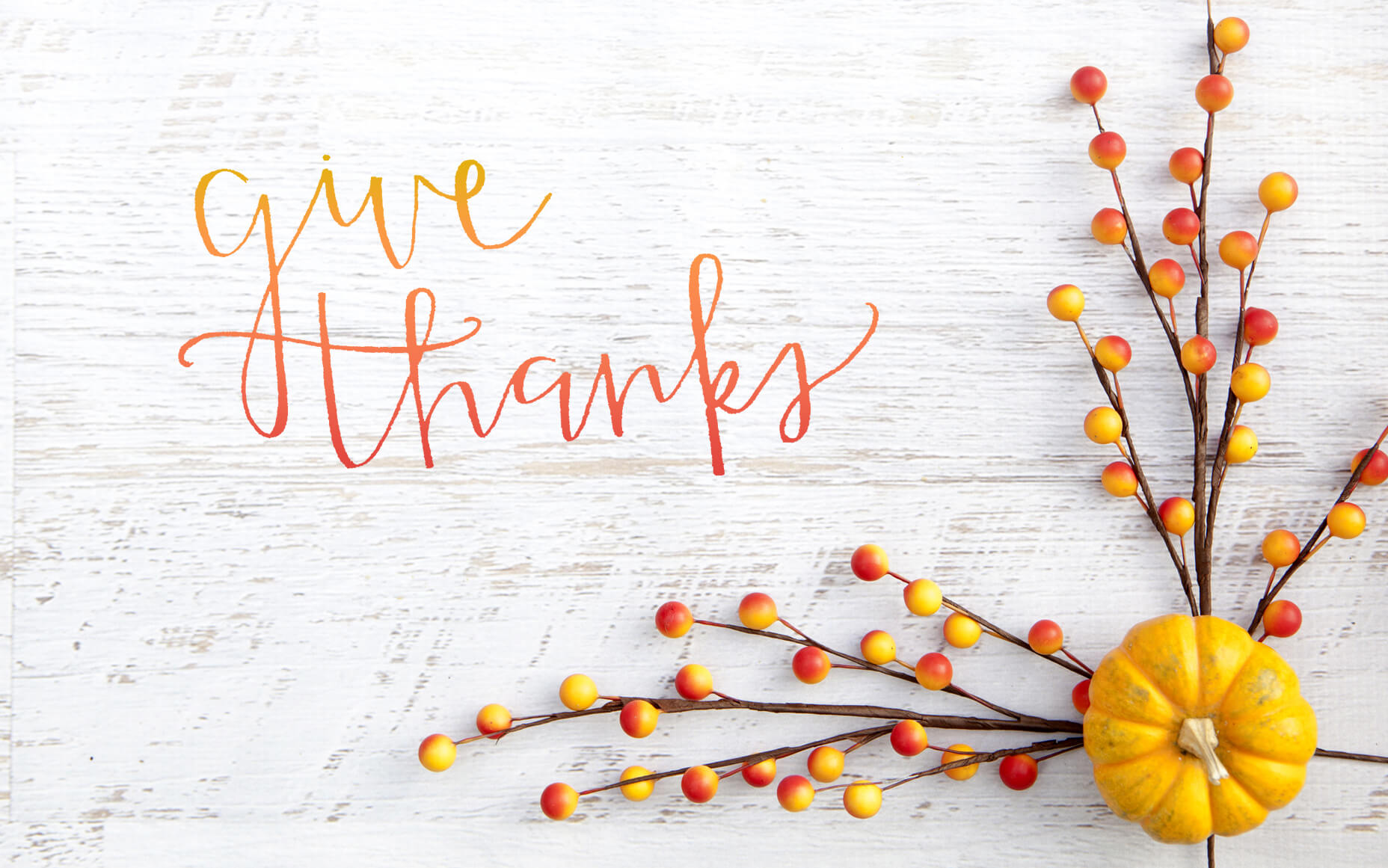 Give thanks together!